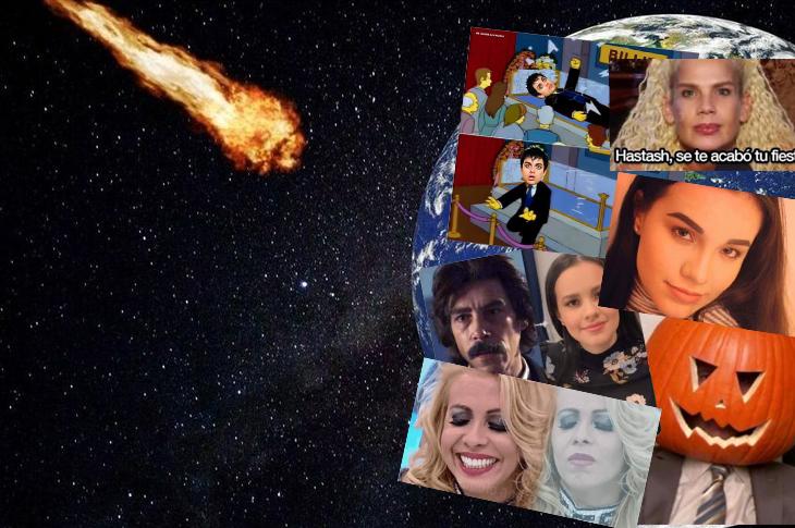 Memes de Sarita y el cuerpo de José José, el meteorito y más
