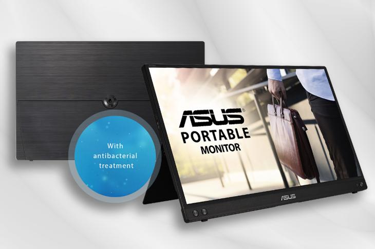 Asus presenta ZenScreen, el primer monitor que elimina bacterias