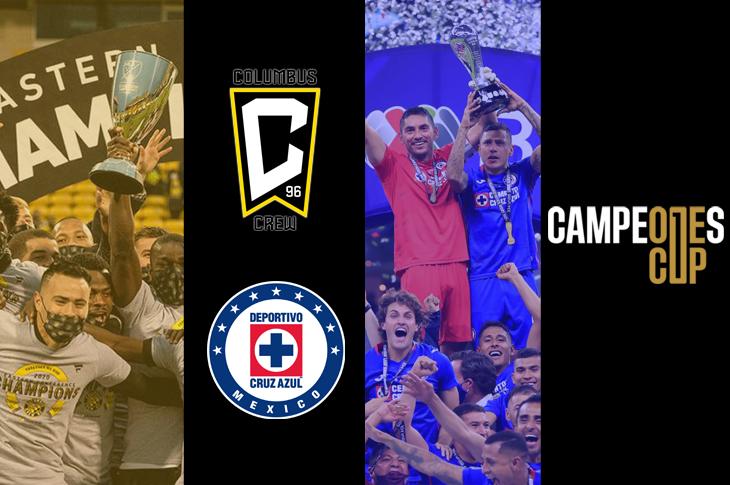 Campeones Cup 2021 Canales para ver el Cruz Azul vs Columbus