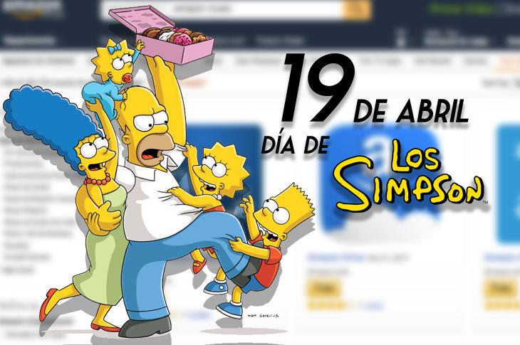 Día de Los Simpson: Los mejores productos en Amazon