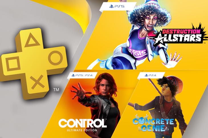 Juegos gratis de PS Plus en Febrero 2021 Control, Destruction AllStars y Concrete Genie