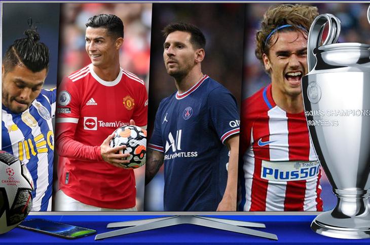 Calendario de la Champions League 2021 juegos Jornada 1