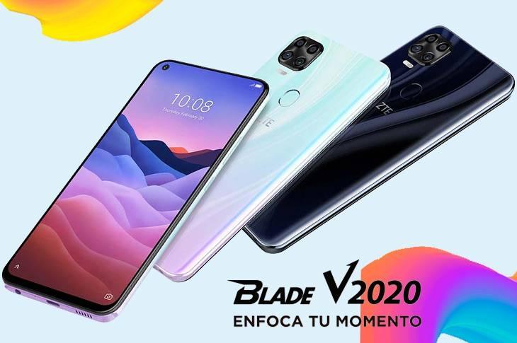 ZTE Blade V2020 ficha técnica y características de un cinco cámaras