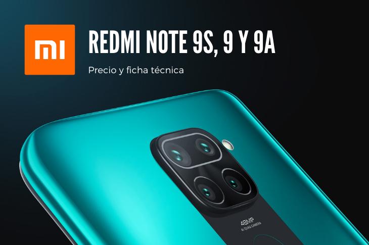 Xiaomi Redmi Note 9S, Redmi 9 y 9A llegan a AT&T México (precio y ficha técnica)