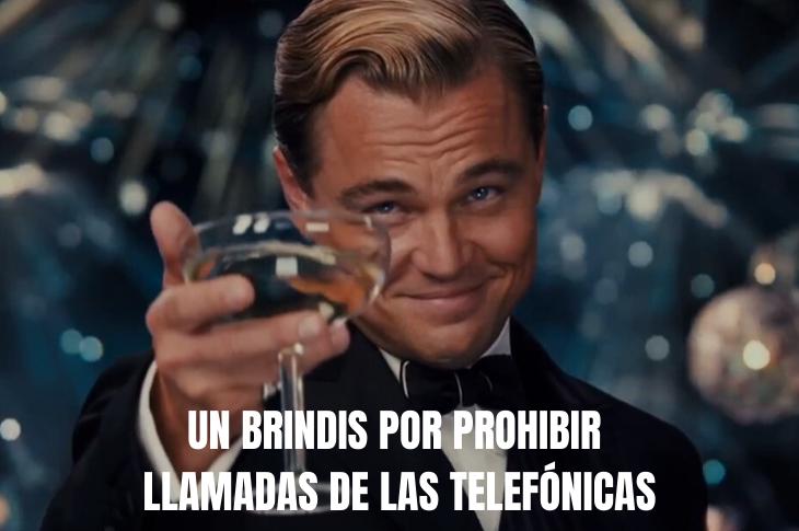 NOM 184 prohíbe a telefónicas llamar a clientes