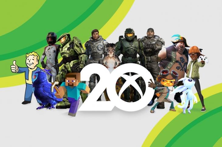 #Xbox20 comienza su celebración por sus 20 años