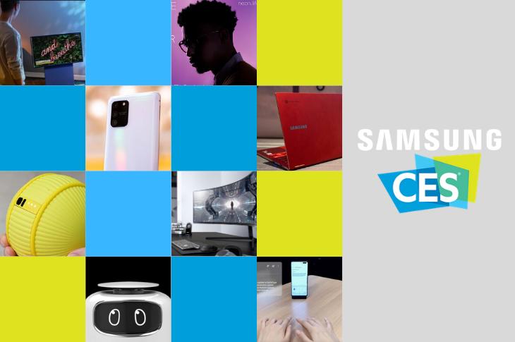 Samsung en CES 2020 Ballie, Neon y todos los lanzamientos