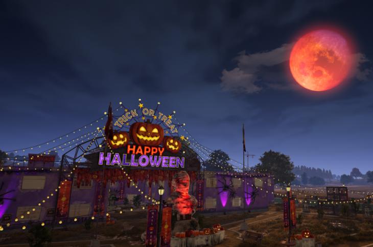 PUBG Battlegrounds adelanta Halloween al mapa Erangel