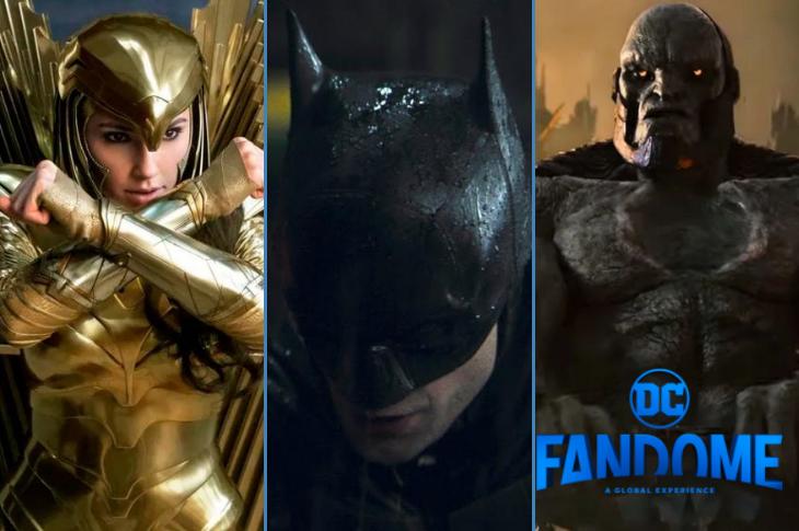 DC FanDome The Batman y todos los tráilers y anuncios