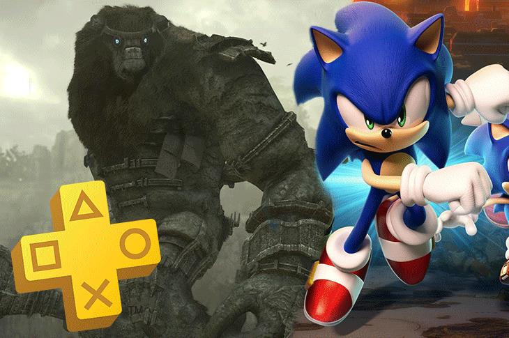 Juegos gratis de PS Plus en marzo de 2020 Shadow of the Colossus y Sonic Forces