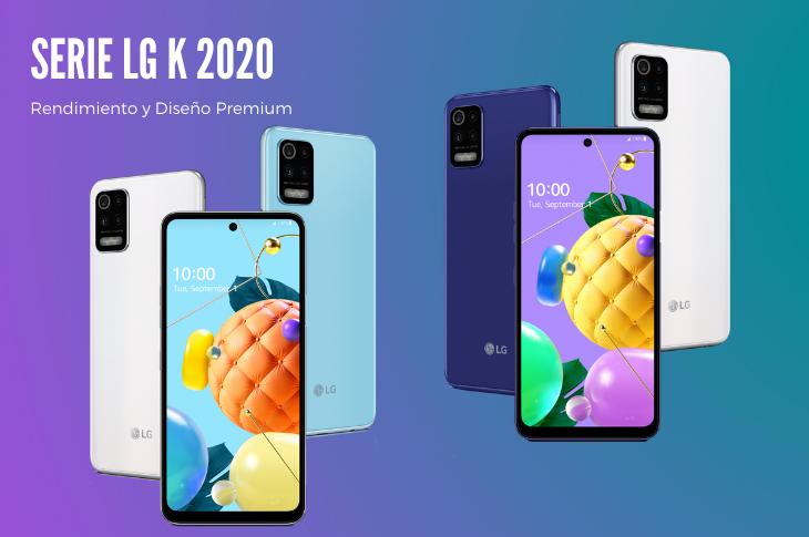 LG K 2020 la serie de smartphones de LG Electronics se renueva