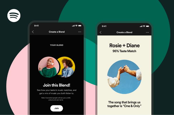 Spotify lanza oficialmente Fusión una herramienta para medir compatibilidad de gustos musicales con amigos