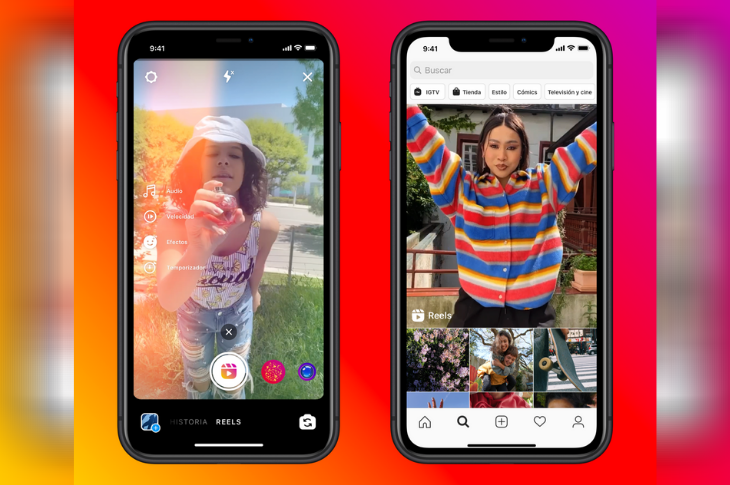 Instagram Reels la nueva función que compite con TikTok