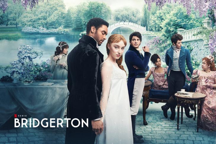 Bridgerton galería del elenco y reseña sin spoilers de la serie de Netflix