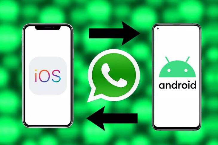 WhatsApp transfiere chats entre iOS y Android fácilmente