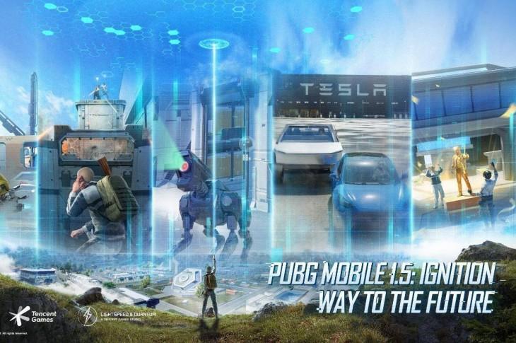 PUBG: Llega la actualización 1.5 de la mano de Tesla