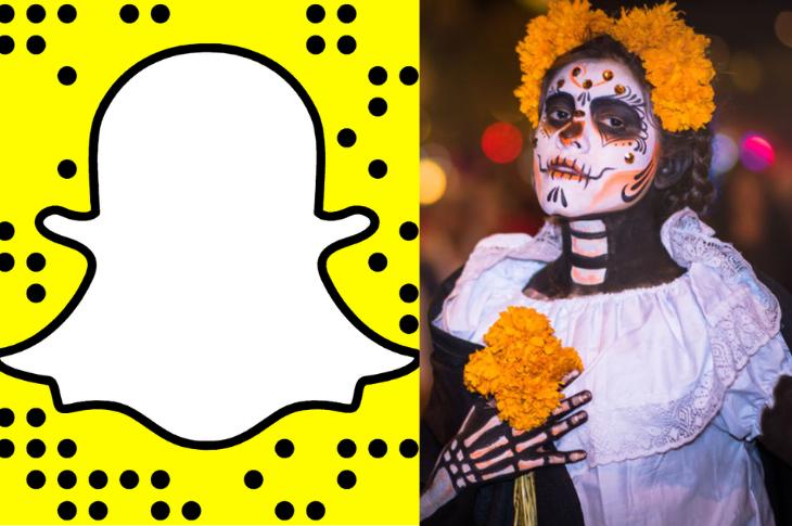 Snapchat lanza Snap Calaverita Lensathon para celebrar el Día de Muertos