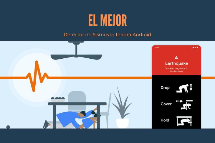 Google convierte smartphones Android en detectores de sismos