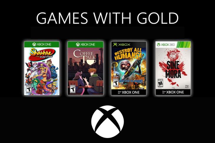 Juegos gratis de Xbox en Games with Gold para junio de 2020