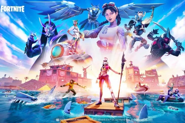 Fortnite Capítulo 2 Temporada 3 Splashdown Aquaman, mapa inundado y más novedades
