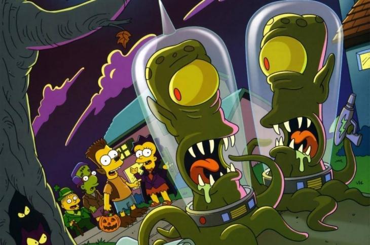 Quiz de Especiales de Noche de Brujas de Los Simpson, Segunda Parte