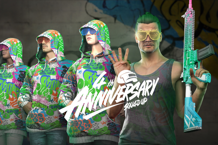 PUBG celebra sus 4 años con una edición especial y eventos dentro del juego