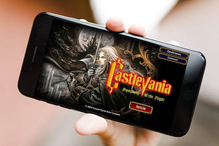 Castlevania Symphony of the Night para smartphones Android e iOS