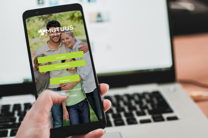 Mutuus servicios integrales de salud en una app