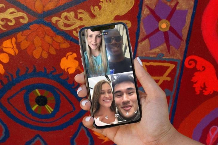 Houseparty app de videollamadas y juegos en grupo