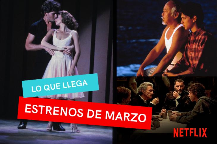 Películas de Netflix México estrenos para marzo de 2021
