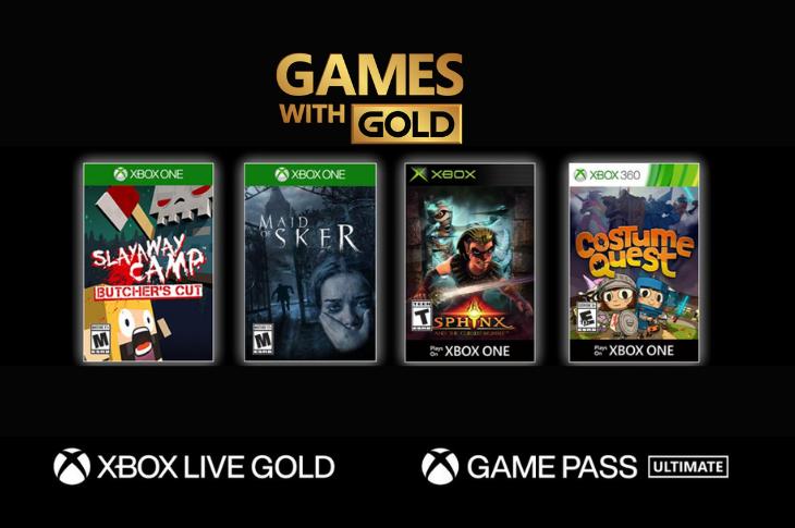 Juegos gratis de Xbox en Games with Gold para octubre de 2020