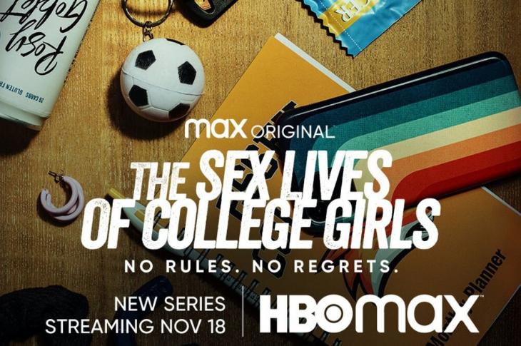 The Sex Lives Of College Girls galeria del elenco de la serie de HBO Max