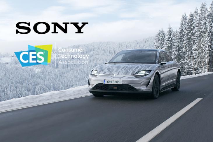 Sony en CES 2021: Vision-S, drones Airpeak y más lanzamientos