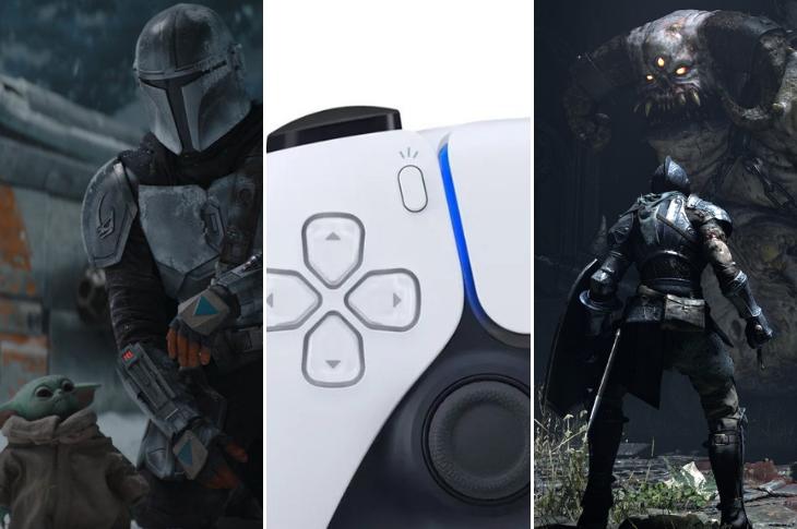 Los mejores videos The Mandalorian, PlayStation 5, Demon's Souls y más