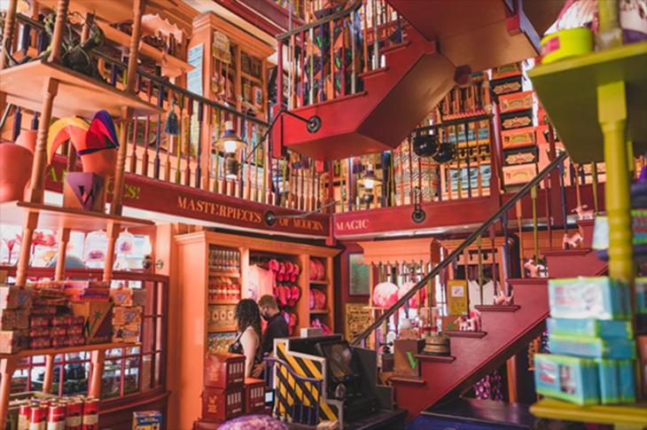 La tienda de Harry Potter más grande del mundo abre nueva sede en NY