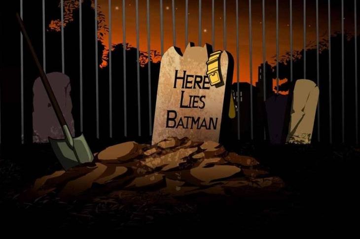 Muertes de superhéroes de DC Batman y Green Lantern