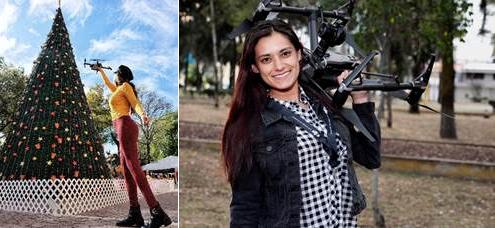 Mujeres pilotos de drones en México