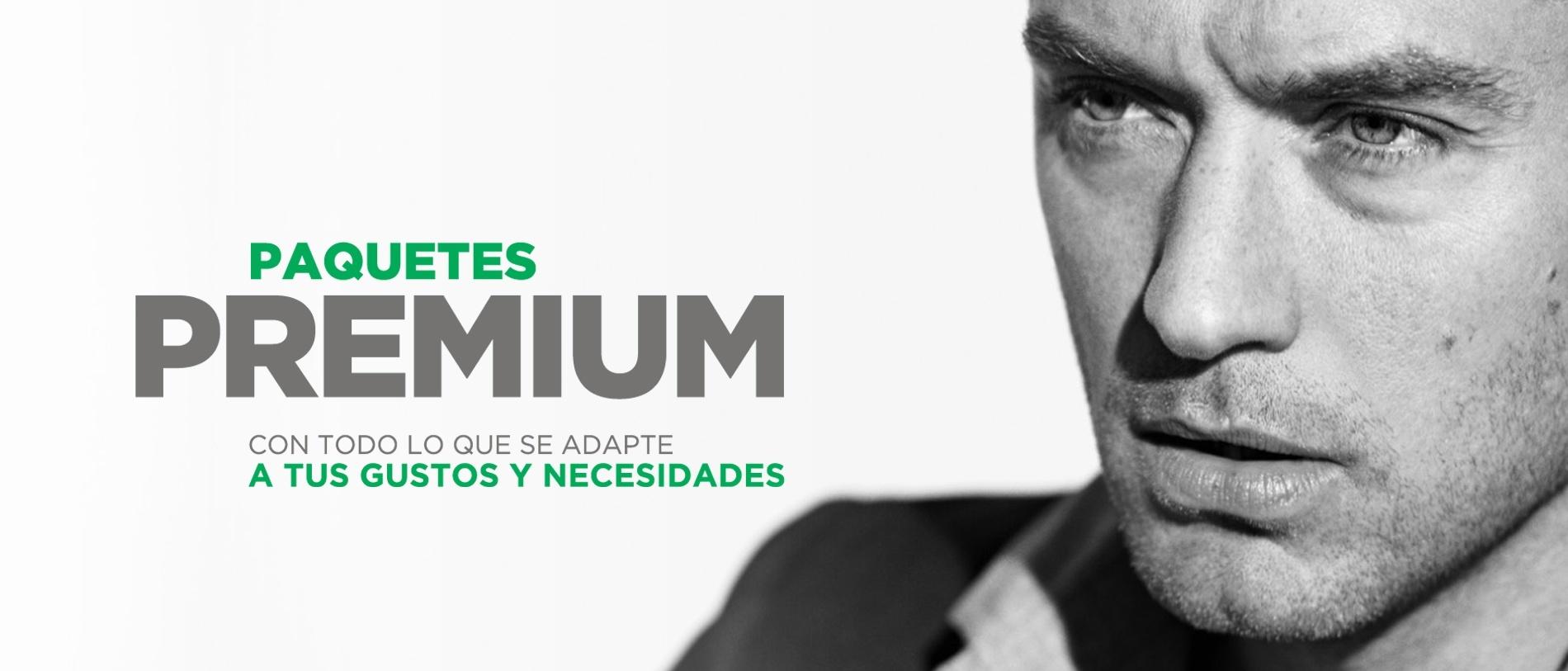 Paquete Premium de Gigacable