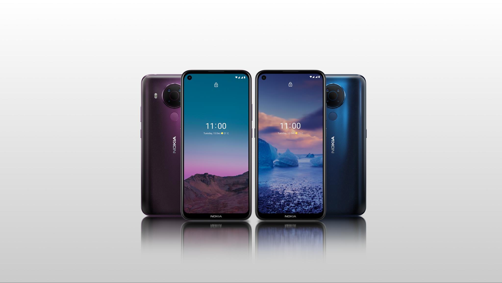 Nuevo Nokia 5.4 ideal para la creación de contenido en video