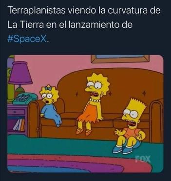 Memes del lanzamiento de Space X