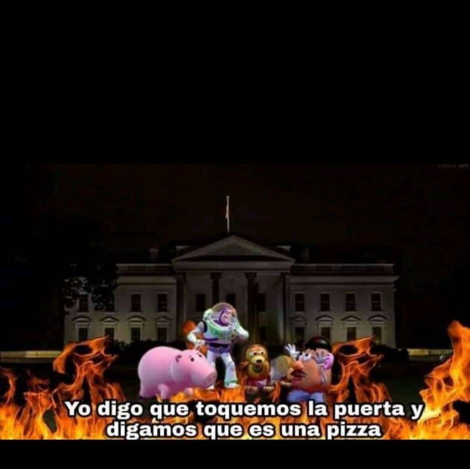 Disturbios en la Casa Blanca
