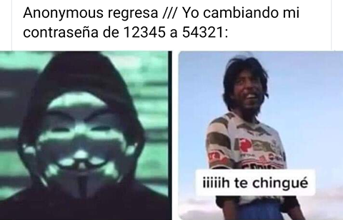 Anonymous regresa
