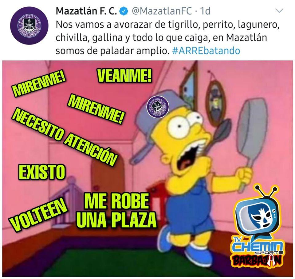 Memes del Mazatlán
