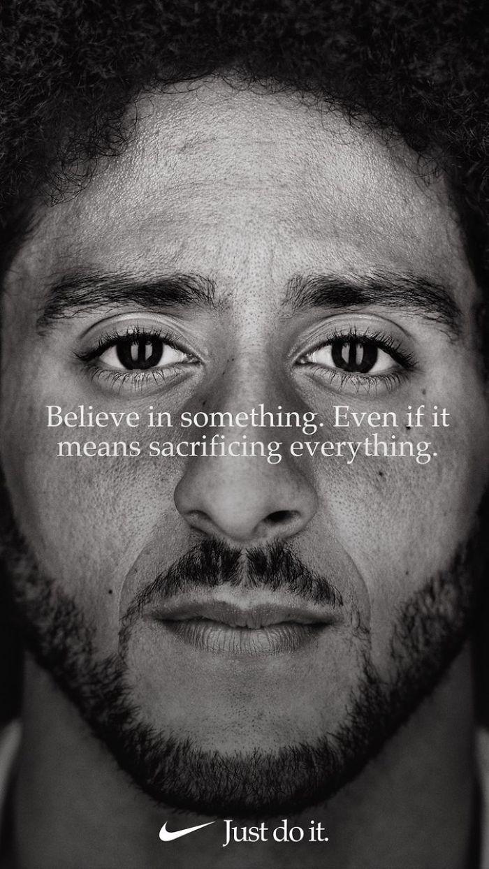Campaña de Nike con Colin Kaepernick