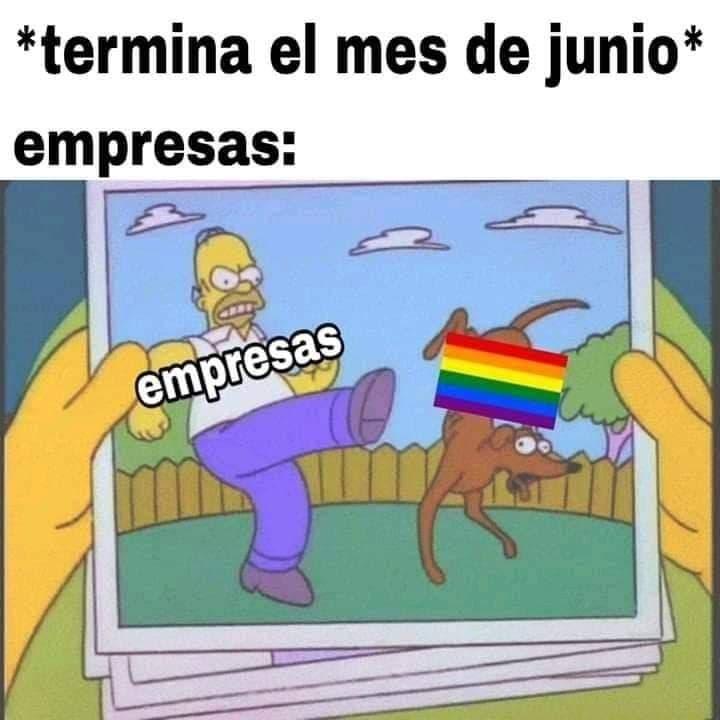 Marcas en el mes del orgullo gay