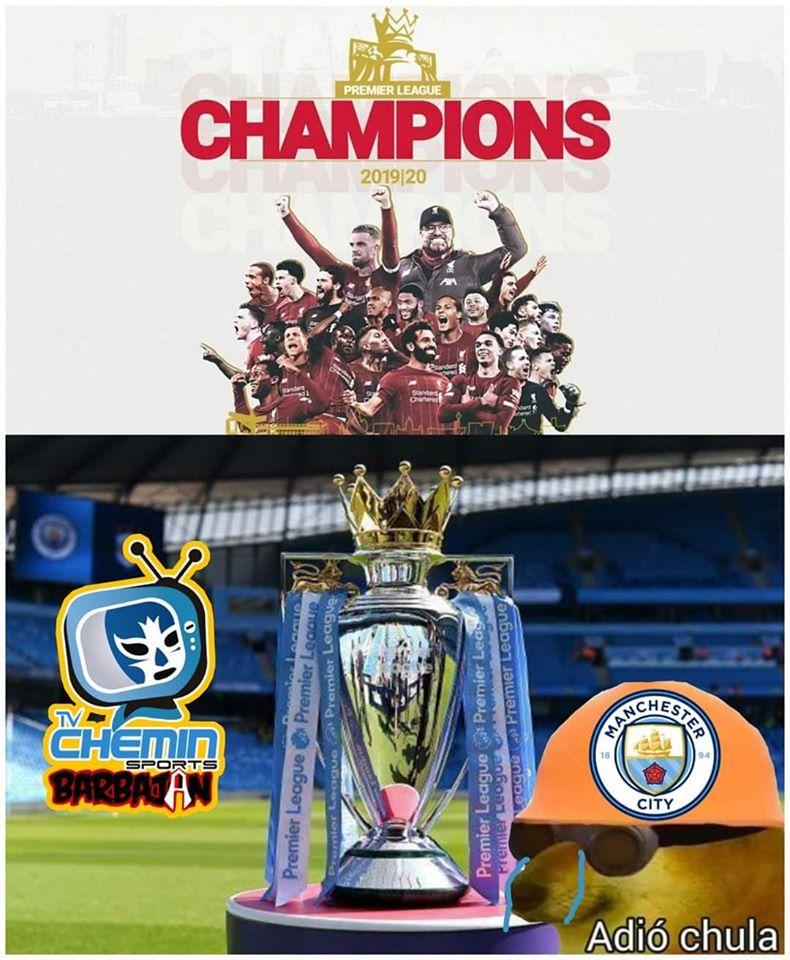 Liverpool campeón de la Premier League