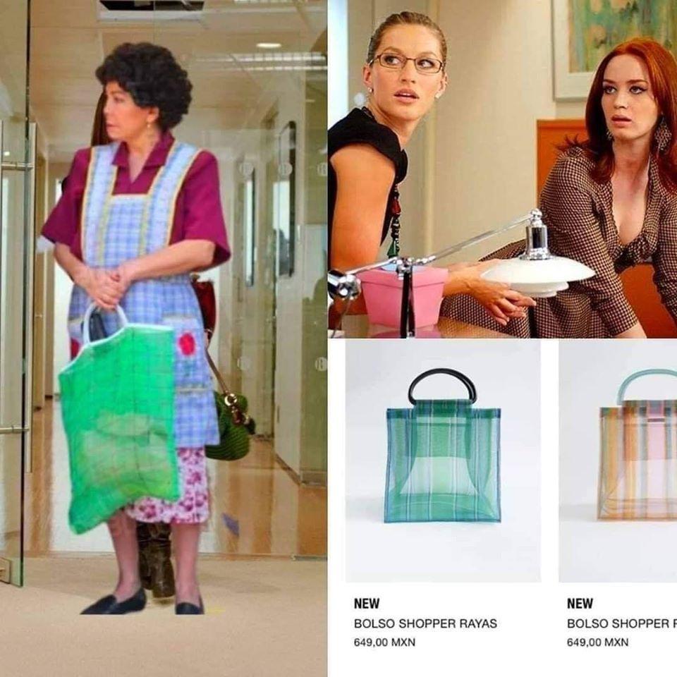 Memes de las bolsas de Zara
