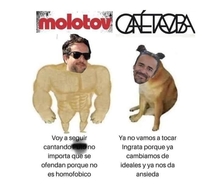 Memes de Molotov y la generación de cristal