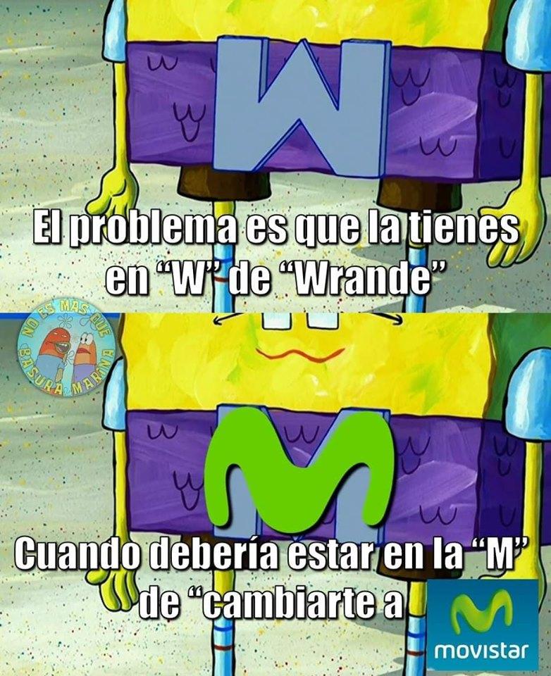 Memes de los vendedores de Movistar