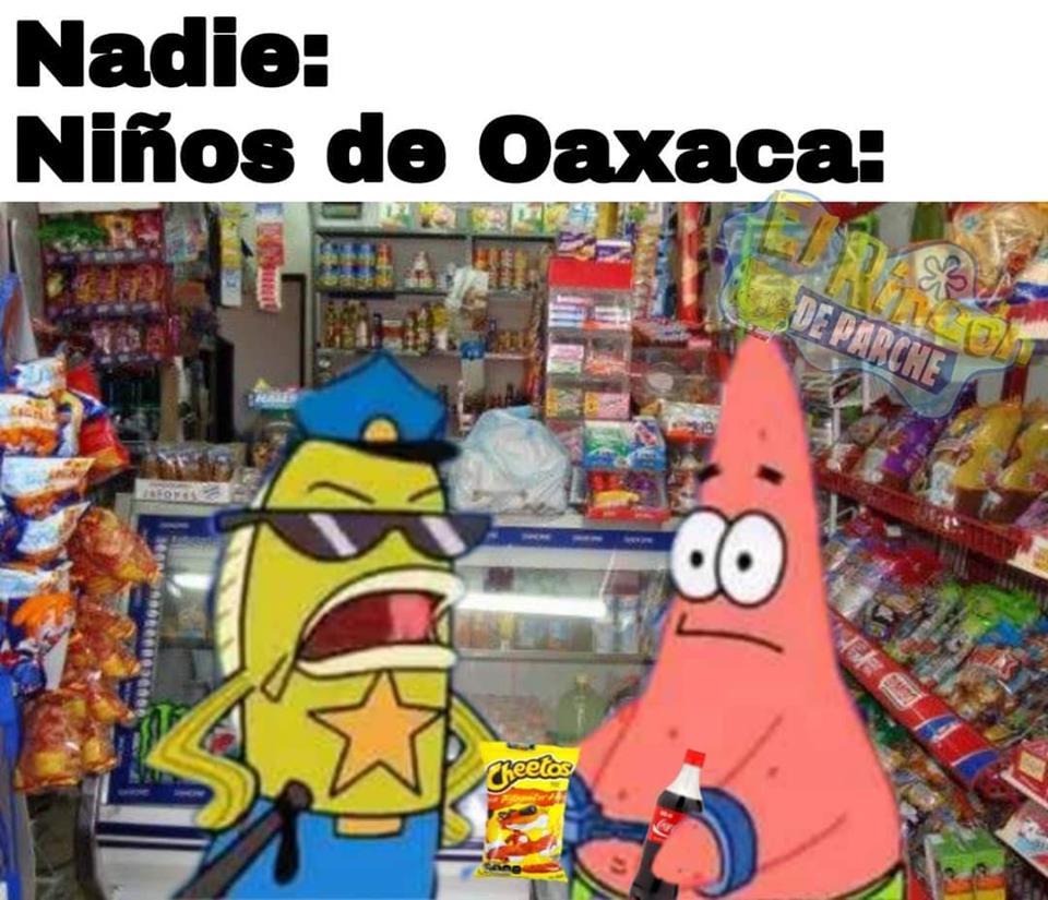 Memes de Oaxaca y la prohibición de chatarra